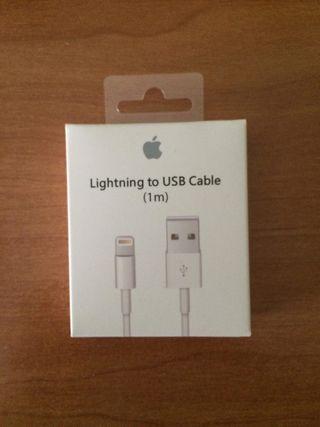 Cable Cargador Original de iPhone (OFERTA:2x15€)