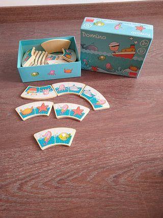 Domino madera infantil Goula