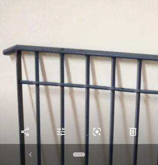 barandilla hierro 154x90cm