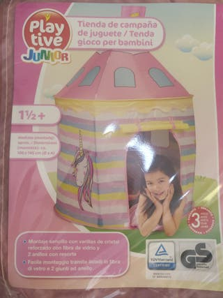Tienda de campaña de juguete niña