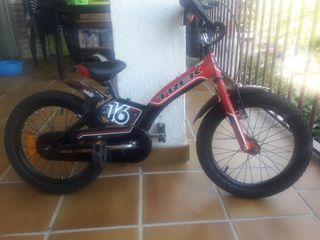 Bicicleta Trek infantil 16 pulgadas