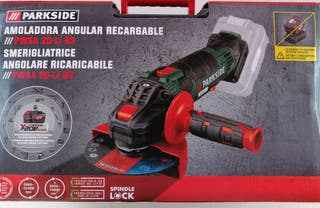 Parkside recargable Amoladora Angular Gama X 20 V