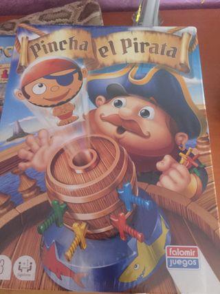 Pincha el pirata sin abrir