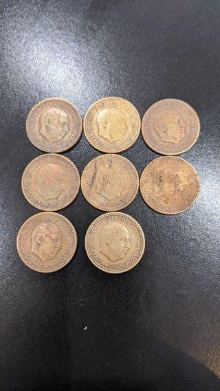 monedas una peseta de franco de 1947