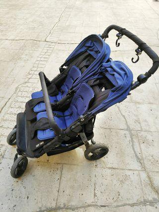 carrito gemelar Baby Monster easy twin