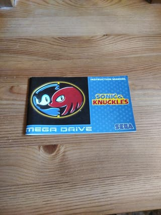 Manual Sonic & Knuckles