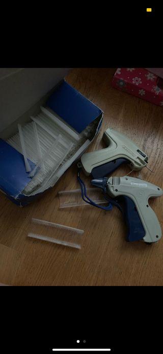 Pistola para etiquetas