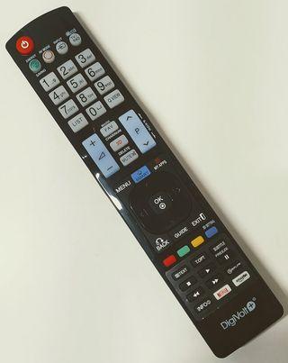 MANDO TV LG CON TECLAS NETFLIX-AMAZON TV.