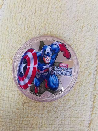 dollar plata capitán América