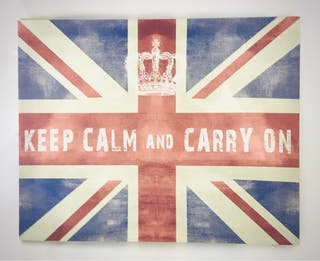 Cuadro lienzo Bandera Reino Unido