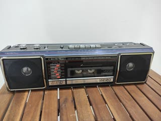 Radio cassette mini Boombox Crown