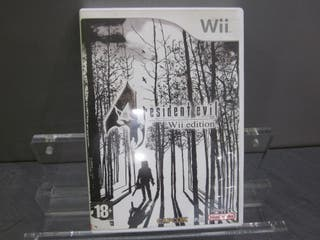 Juego nintendo WII Resident Evil 4 wii edition