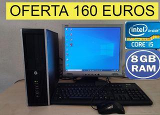 ORDENADOR COMPLETO CORE i5 CON 8 GB RAM 500 GB HDD