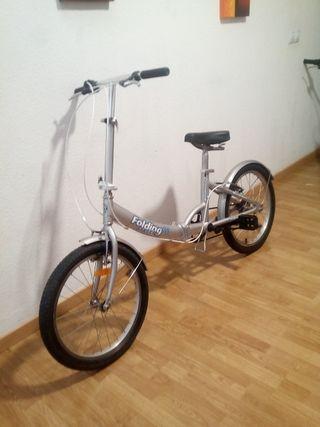 bicicleta plegable modelo urban life