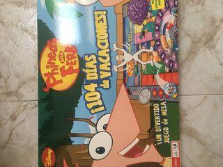 Juego de mesa Phineas y Ferb