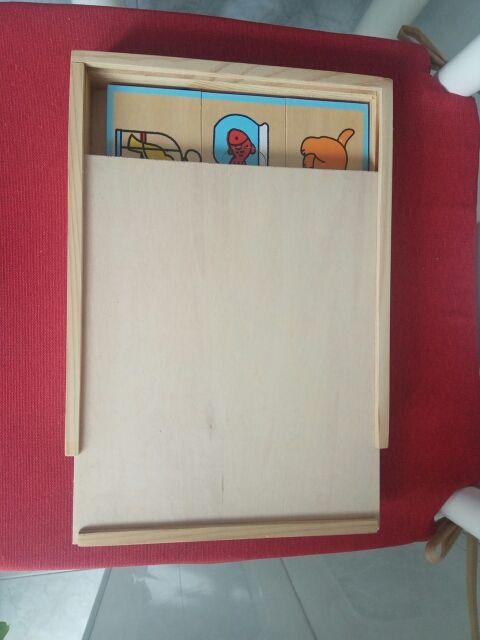 Puzzle madera infantil
