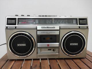 Radio cassette boombox National Panasonic