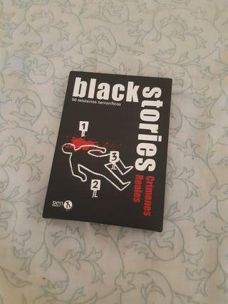 Black Stories - Crímenes Reales - Juego de cartas