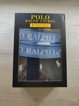 pack 3 calzoncillos Polo Ralph Lauren S