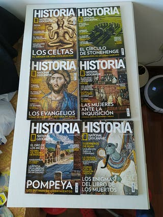 revista nacional geographic historia