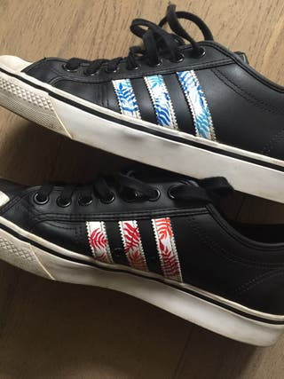 Custom Sneaker Painting