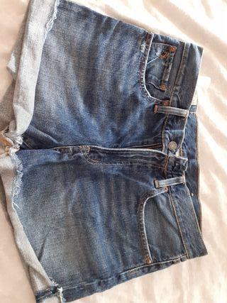 Polo Ralph Lauren,pantalon corto tejano