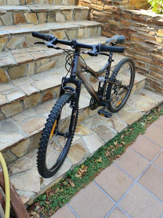 Bicicleta MTB doble suspension cadete