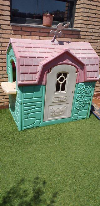 casita infantil Feber para jardín