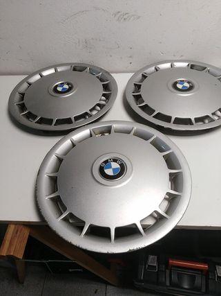 """3 tapacubos BMW en 14"""""""