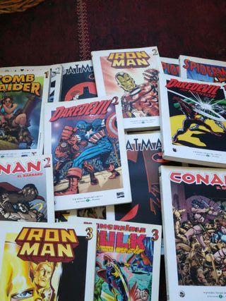 colección comics Marvel -Dc