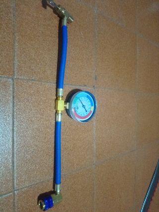 Manometro de gas aire acondicionado