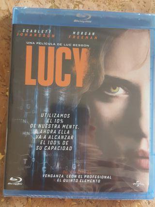 Lucy en Blu-ray