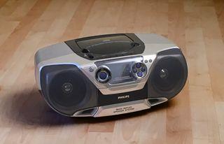 Mini equipo CD, Radio, Cassette. Philips