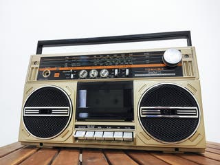 Radio cassette Toshiba Bombeat 75