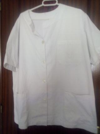 Camisa de trabajo blanca