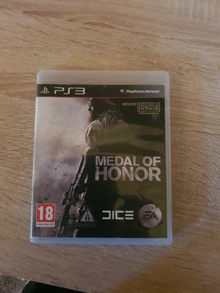 medalla of honor ps3