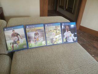 Video juegos PS4 FIFA
