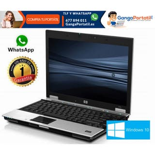 Portátil HP EliteBook 8440P, i3/4Gb/Win10 Gratis