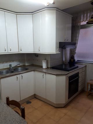 Muebles cocina, fregadero, cocina (gas), horno