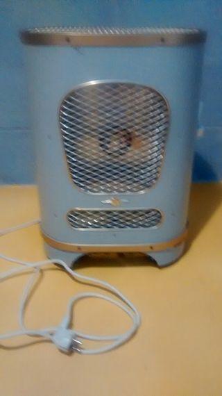 Calefactor eléctrico Vintage/Retro.