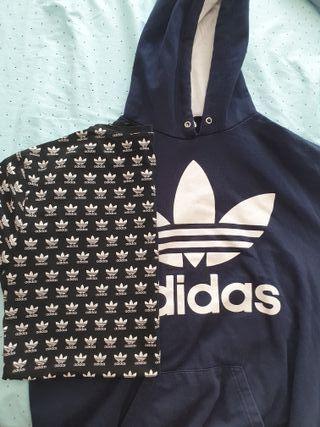 Lote camiseta y sudadera Adidas