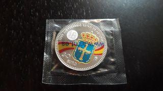 Moneda Plata 30 euros Color España 2018