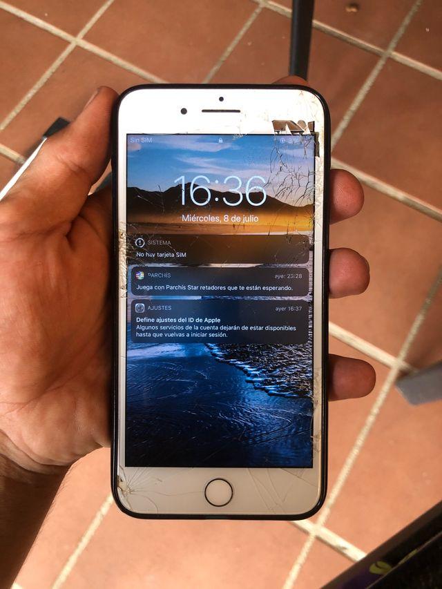 Iphone 7 plus 32 gb blanco