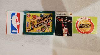 Cromos NBA, Ralph Sampson, años 80, Super Canasta.