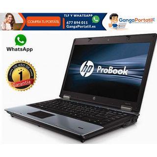 Portátil HP ProBook 6450B, i5/Cam/8Gb/Win10 Gratis