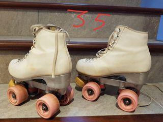 patines patinaje artistico. libre. talla 35