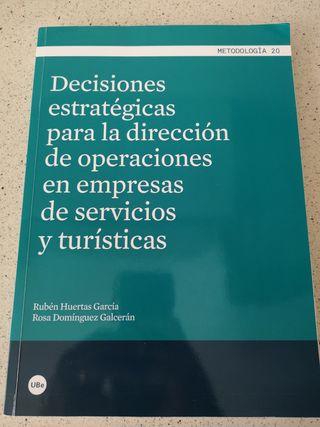 Libro Dirección de las Operaciones UNED