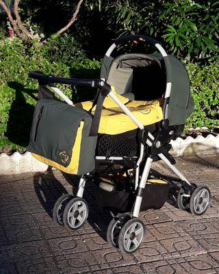 Coche bebé Jané con cuco y silleta