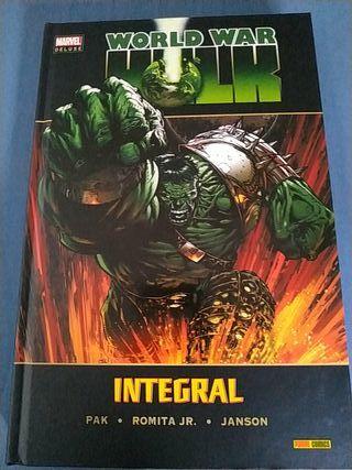 Cómic marvel deluxe hulk nuevo