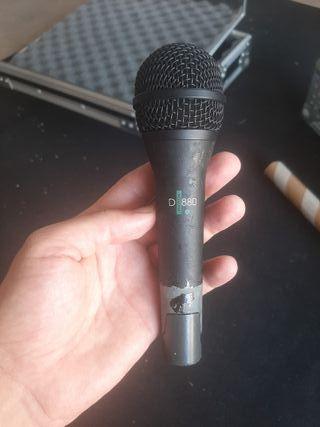 microfono akg emotion d880